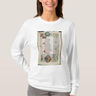 T-shirt Arbres de Bélier et d'un abattage d'homme
