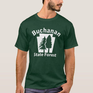T-shirt Arbres de Buchanan SF