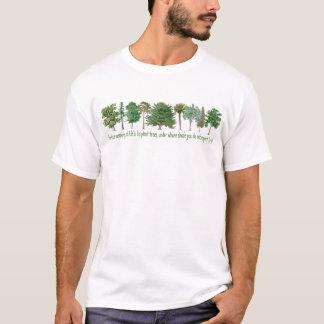 T-shirt Arbres de plante