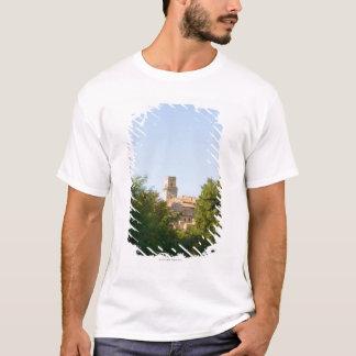 T-shirt Arbres devant un bâtiment, Monteriggioni,