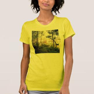 T-shirt Arbres par la rivière
