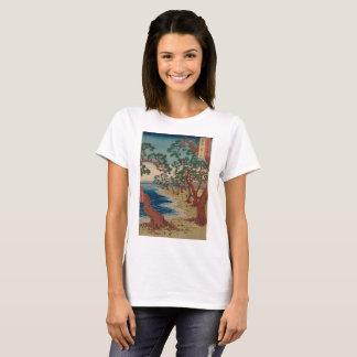 T-shirt Arbres tordus par le rivage