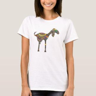 T-shirt Arc-en-ciel de chèvre