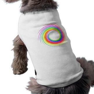 T-shirt Arc-en-ciel Swirl2