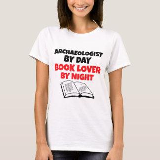 T-shirt Archéologue d'amoureux des livres