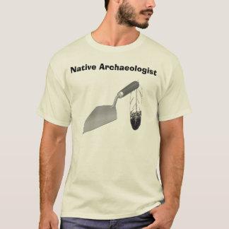 T-shirt Archéologue indigène