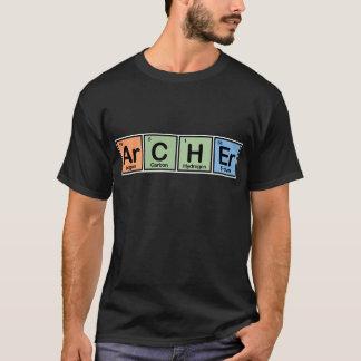 T-shirt Archer a fait des éléments