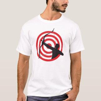 T-shirt Archer avec la cible/T-shirt de base