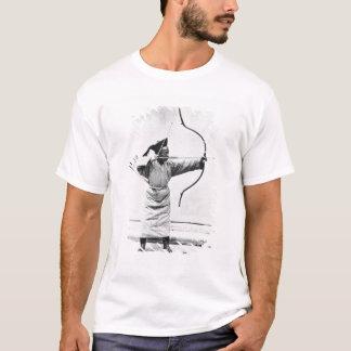 T-shirt Archer chinois, c.1870 (photo de b/w)