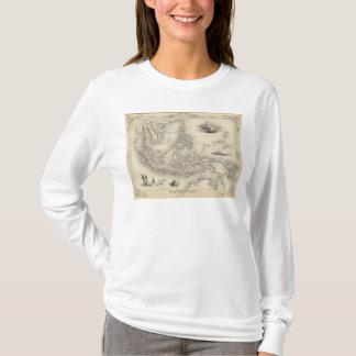 T-shirt Archipel malais, ou îles est de l'Inde