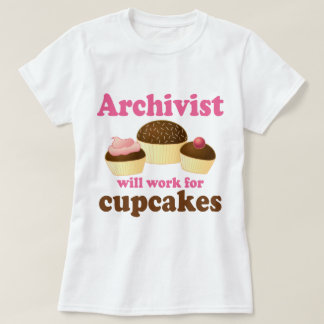T-shirt Archiviste drôle