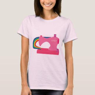 T-shirt Arcs-en-ciel de couture