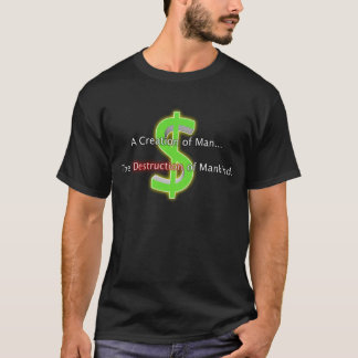 T-shirt Argent : Chemise de destruction