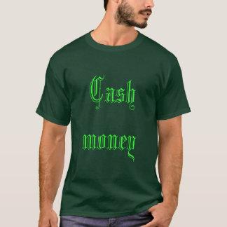 T-shirt Argent d'argent liquide