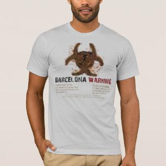 T-shirt Argent de Biohazard de Barcelone