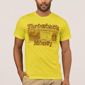 T-shirt Argent de régression
