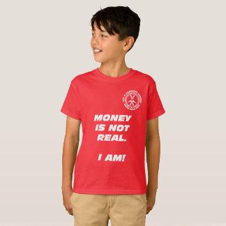 """T-shirt Argent d'enfants le """"n'est pas vrai ! """""""