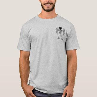 T-shirt Argent liquide de gisement de pétrole