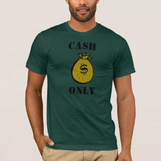 T-shirt Argent liquide seulement