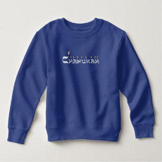 T-shirt argenté de Menorah Hanoukka