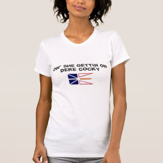 T-shirt Argot de Newfie