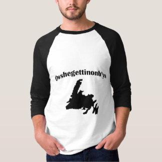 T-shirt Argot de Terre-Neuve Newfie