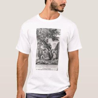 T-shirt Argument entre Jean-Jacques Rousseau