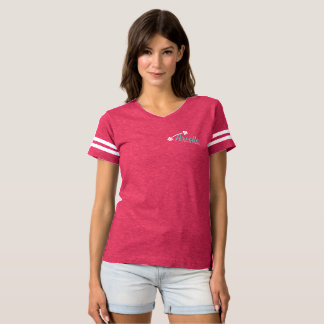 T-shirt Arielle Crumble Fitness Shirt Stripes