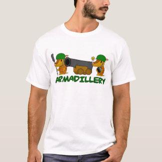 T-shirt armadillery