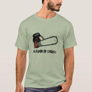 T-shirt Arme de choix