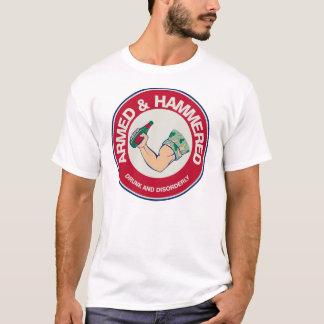 T-shirt Armé et martelé !