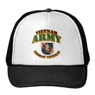 T-shirt - ARMÉE - 5ème éclair de SFG - Vietnam - C Casquettes De Camionneur