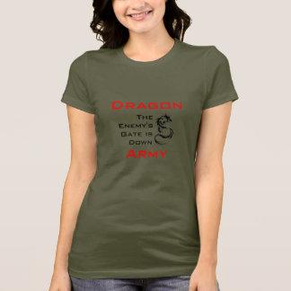 T-shirt Armée de dragon/chemise incantation d'Ender