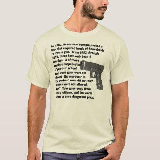 T-shirt Armes à feu pour des citoyens