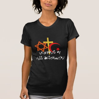 T-shirt Armes de destruction massive