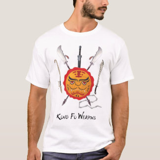 T-shirt Armes du Kung Fu