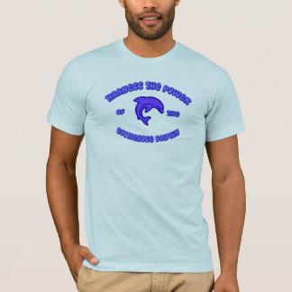 T-shirt Armez la puissance du dauphin de Bottlenose