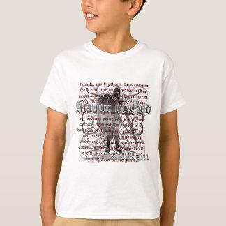 T-shirt Armure de soldat de Dieu