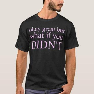 T-shirt arrêt