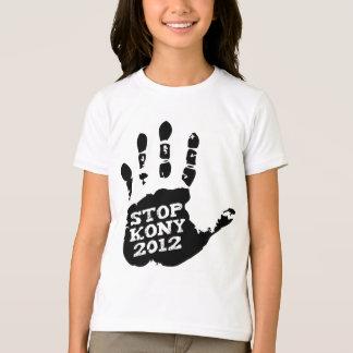 T-shirt Arrêt 2012 de Kony Handprint Joseph Kony