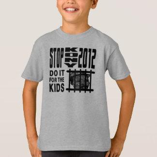 T-shirt Arrêt Kony 2012 - faites-le pour les ENFANTS