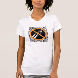 T-shirt Arrêtez Chemtrails !