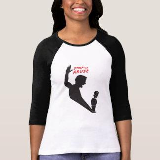 T-shirt Arrêtez la chemise de mauvais traitement à enfant