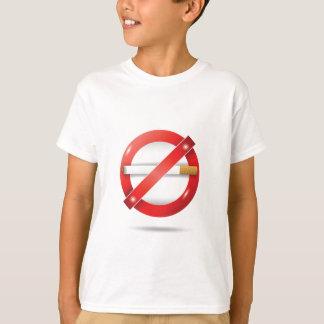 T-shirt arrêtez la cigarette