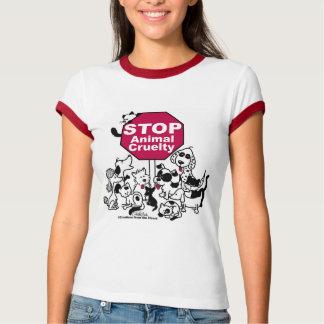 T-shirt Arrêtez la cruauté animale