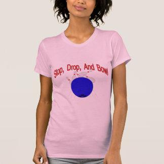 T-shirt Arrêtez la cuvette de baisse