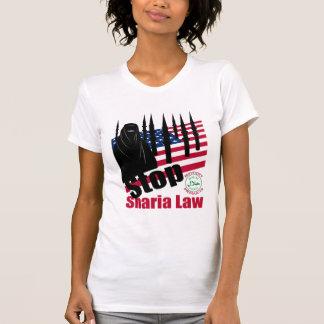 T-shirt ARRÊTEZ LA LOI de SHARIA (Etats-Unis)