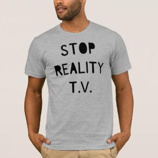 T-shirt Arrêtez la réalité T.V.