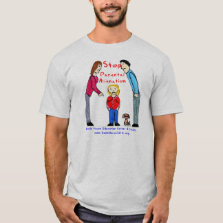 T-shirt Arrêtez l'aliénation parental