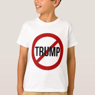 T-shirt Arrêtez l'Anti-Atout de Donald Trump